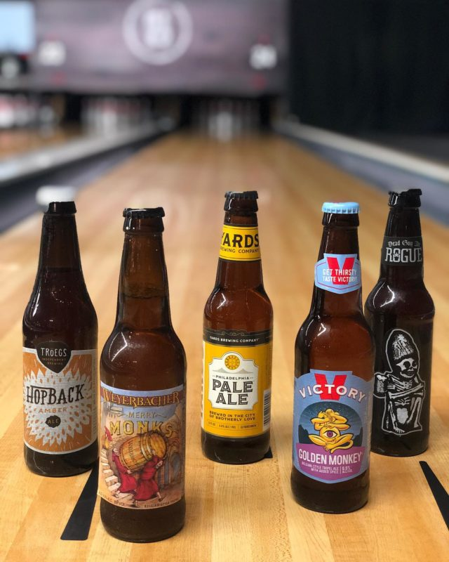 #nationalbeerday calls for brews n' bowling! We offer full service of our food & drink menus down at the lanes!